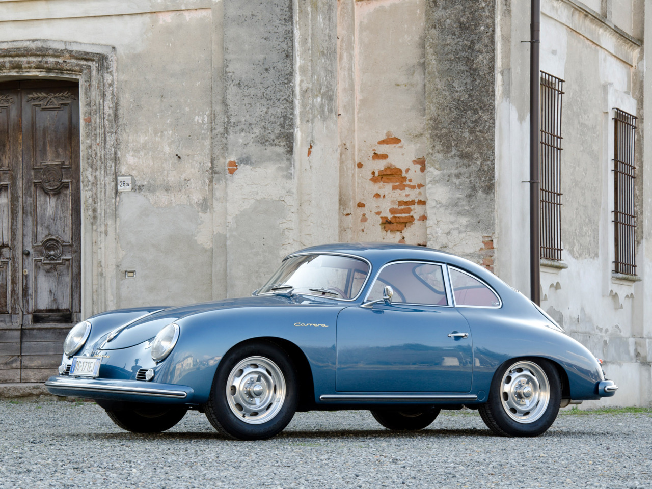 masterpiston: 1955 Porsche 356A Carrera Coupe.