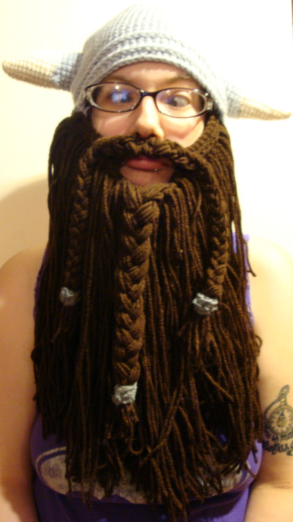 alliekatx:  This viking bearded hat is available in our etsy shop and is totes fun!!!!! Head over to the etsy shop and check what else we have to suit your fancy, and use our opening coupon to get 10% off your order, ALL orders over $50 get free shipping (in the US, discounted shipping in other countries) coupon code: GRANDOPENING2012  http://www.etsy.com/shop/YarnBombin  GO TO OUR SHOP K THX!