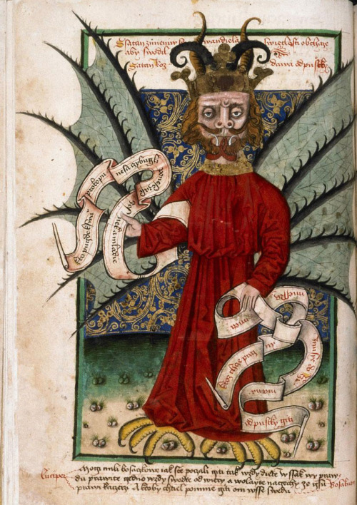 demonagerie:  Prague, Musée nat., Bibl., IV. B. 24, f. 71r. Jena Codex (late 15th century).