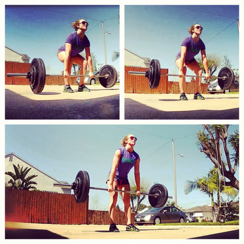 girlgoingfit:  deadlifts are so good.