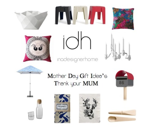Thank your Mum today with a beautiful gift from In A Designer Home