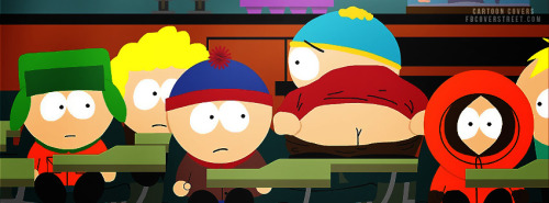 South Park 4 Facebook Cover