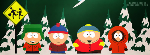 South Park 5 Facebook Cover