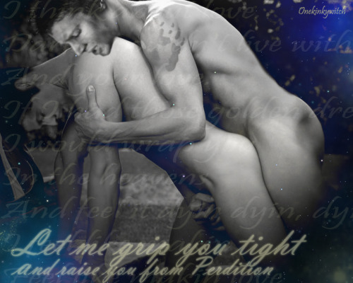 gallifrey69:  Destiel - Grip you tight by *XxOnekinkywitchxX I do believe i have the vapors!