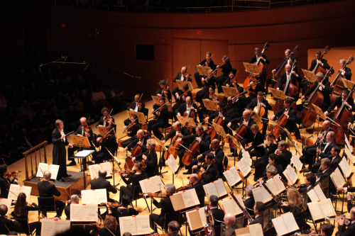 raven-symona:  Boston Symphony Orchestra Look at those perfectly aligned stands!  ALMOST got to see them last night… :(