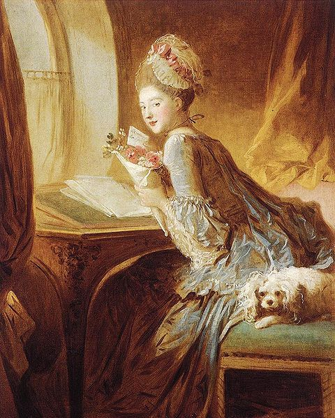 The Love Letter Jean-Honroe Fragonard