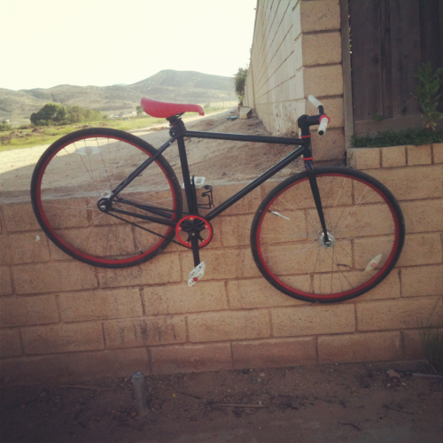 My FIXIE on the way home