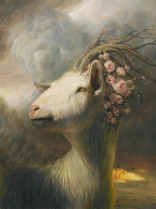 onogides:  Painting by Martin Wittfooth