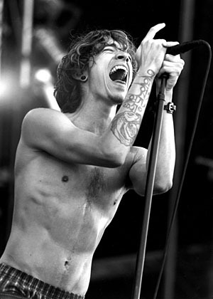 Brandon Boyd of Incubus vegetarian