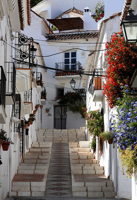 Side Street, Andalucia, Spain photo via wonder