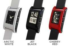 This is where Appcessories and the wearable-tech trend meet: the Pebble E-Paper Watch I signed up early on for a black model - and can't wait to see how well it integrates with apps (Runkeeper has already been announced as a partner), AND makes using a mobile device even easier.
