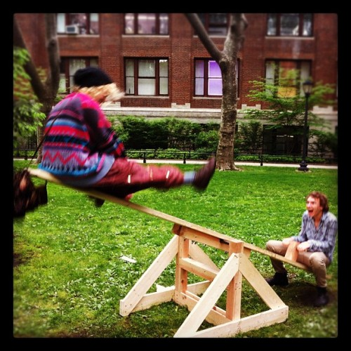 Seesaw! (Taken with instagram)