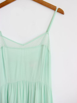 Mint Green- Lace Dress at Mickey's Girl