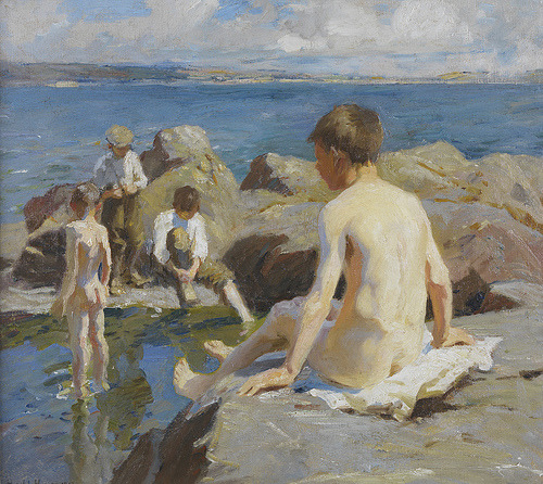 Bathers Harold Harvey