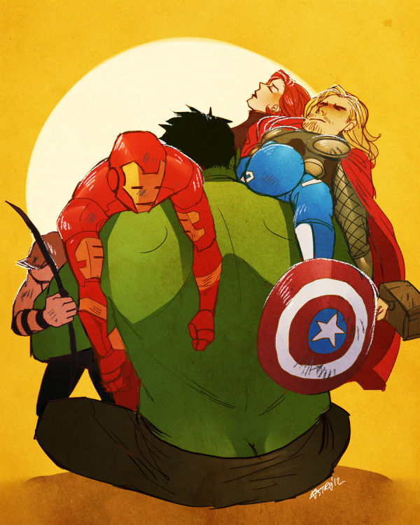 nogutsnoglory:  gotta catch 'em all  well Avengers was awesome as fuck..