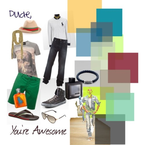Dude, You're Awesome by rosylilac featuring david yurman jewelry