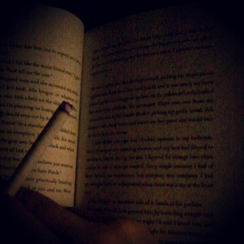 Favorite thing before bed. (Taken with instagram)