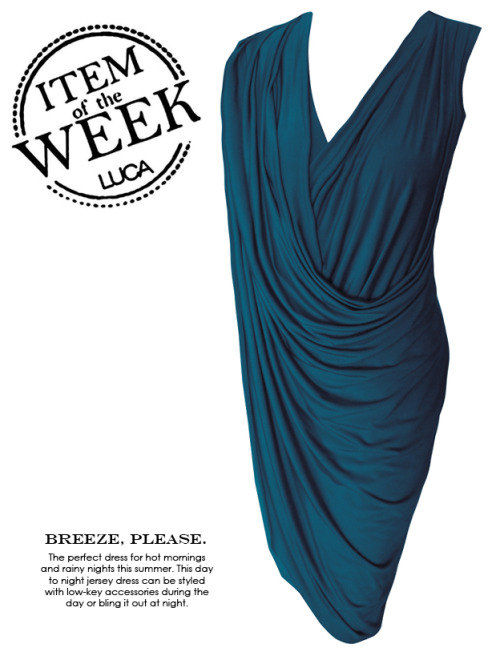 ITEM OF THE WEEK: VIVIANE DRESS (P2,400) Now available at www.shopluca.com