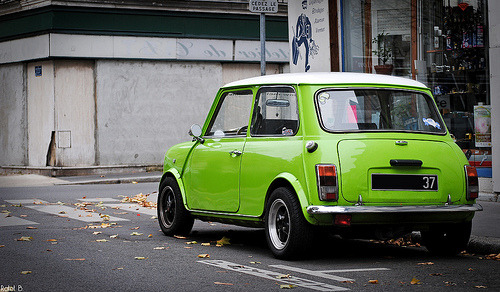 carpr0n:  Edamame Starring: Austin Mini Cooper (by BenjiAuto (Ratet B. Photographie))