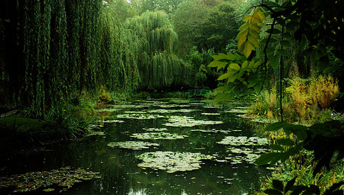 un-revenant:  Monet's House @ Giverney, France (by valkrye131)
