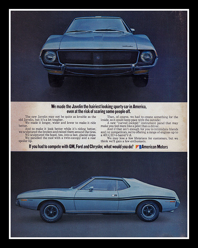 chromjuwelen:  AMC Javelin, 1971 (by Cosmo Lutz)  AMC Javelin Anyone else with Matchbox no. 9?