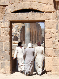 Through The Doorway Of Bosra by Alan1954 on Flickr.