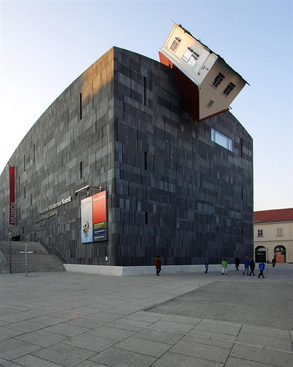 asaya:  House Attack (2006) by Erwin Wurm via