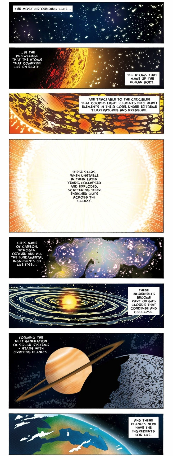 alexob:  Neil deGrasse Tyson Comic: The Universe is in us.