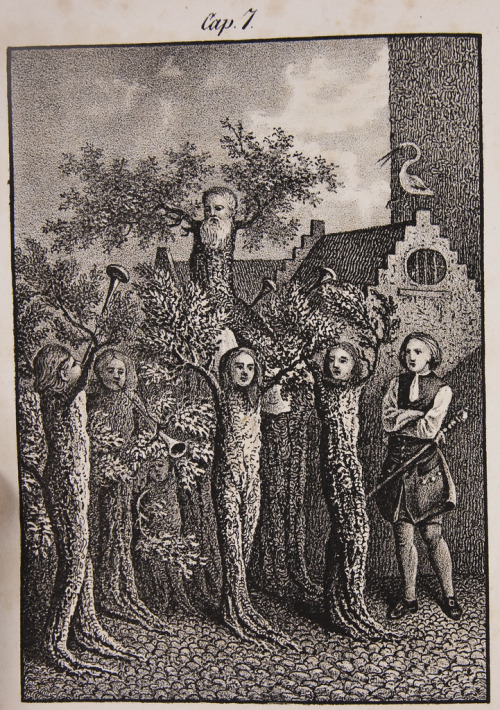 mirrormaskcamera:  (via Little Hokum Rag: The World Underground 1741) Ludvig Holberg's The Journey of Niels Klim to the World Underground