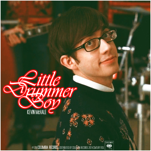 Glee The Christmas Album Vol 2 | Little Drummer Boy Requested Alternative Cover