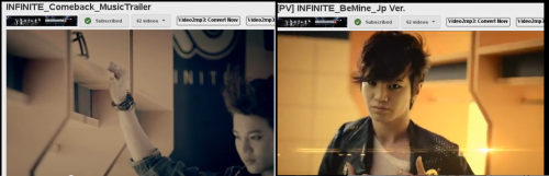 mb I'm late but. omg I noticed that INFINITE filming Be Mine Jap Ver. at the same place where they rec. their comeback teaser x.x