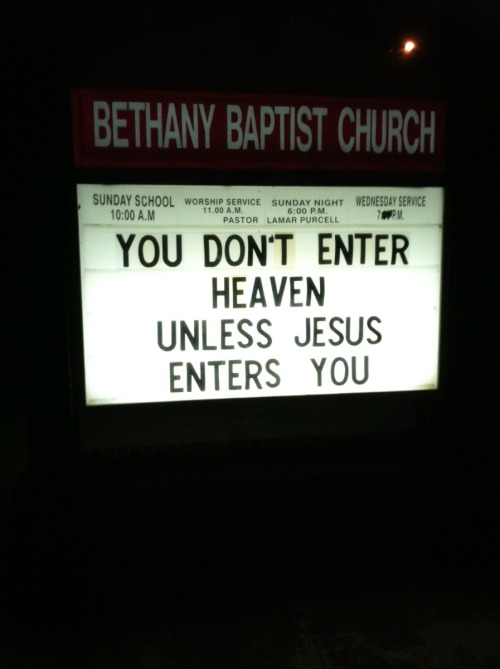 funny-pictures-blog:  No means no, Jesus.