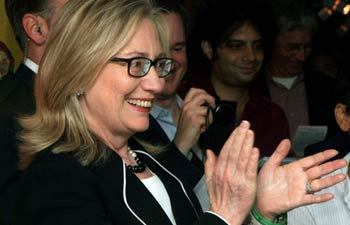 Hillary Clinton in Kolkata