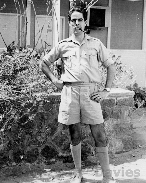 "Ivor ""Taff"" Davies, RAF Khormaksar, Aden c.1966 by Ken at PhotosOfPembs on Flickr."