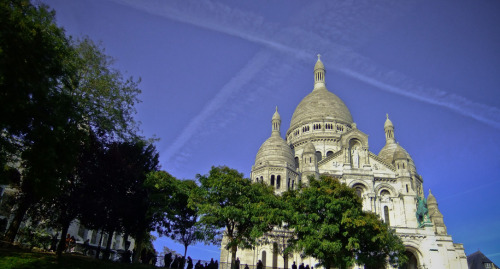 le sacré coeur , Paris , France  made by miou :3