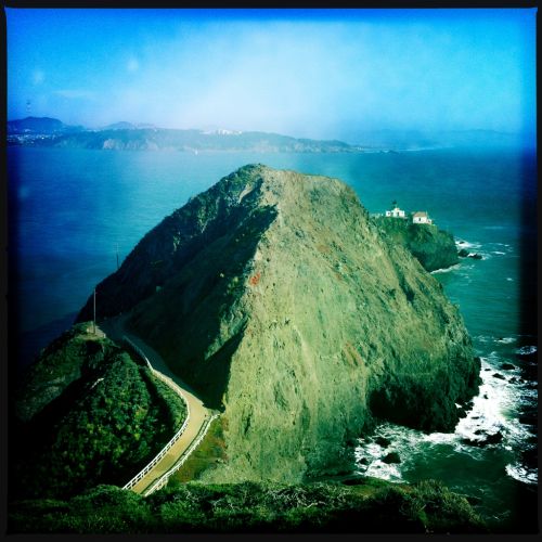 Point Bonita Lighthouse, Marin Headlands.
