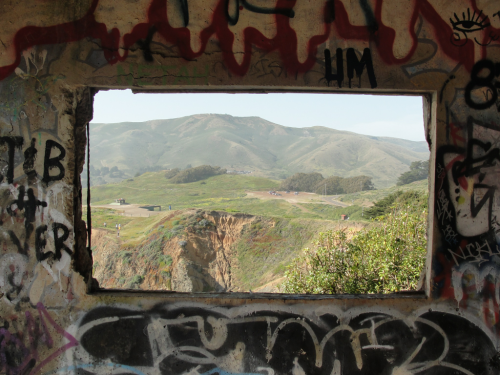 Battery Mendell, Fort Barry. Marin Headlands.