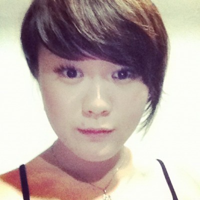 before. #me #camwhore #face #shorthair #random #instamood #asian #girl #monday #workout #look #chinese #dull  (Taken with instagram)