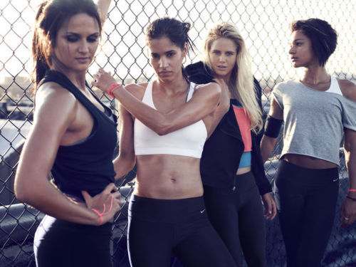 Sofia Boutella & Laura Enever for Nikewomen