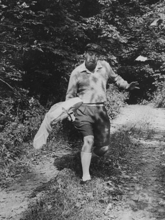 "millionsmillions:  Every picture of Vladimir Nabokov catching butterflies deserves the caption, ""Haters gonna hate.""  THIS"