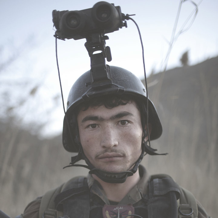 An Afghan commando in Helman Province. Photo: Pieter Ten Hoopen The war in Afghanistan is not over. Help us tell the story. Fund our Kickstarter.