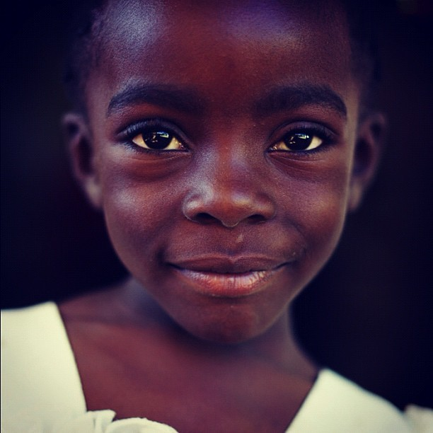 Kenyan Beauty (Leica M9 w/IG XP) #portraits #kenya #ismsoperationkids #medicalmission #orthocase  (Taken with Instagram at Kakamega, Kenya)