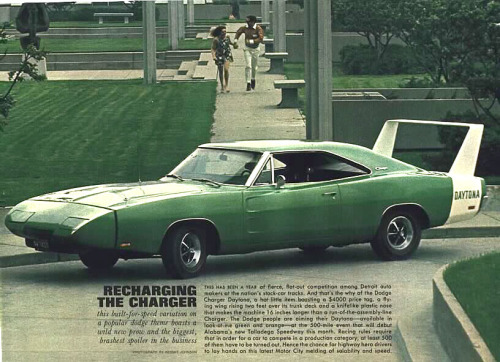 Dodge Charger Daytona Ad