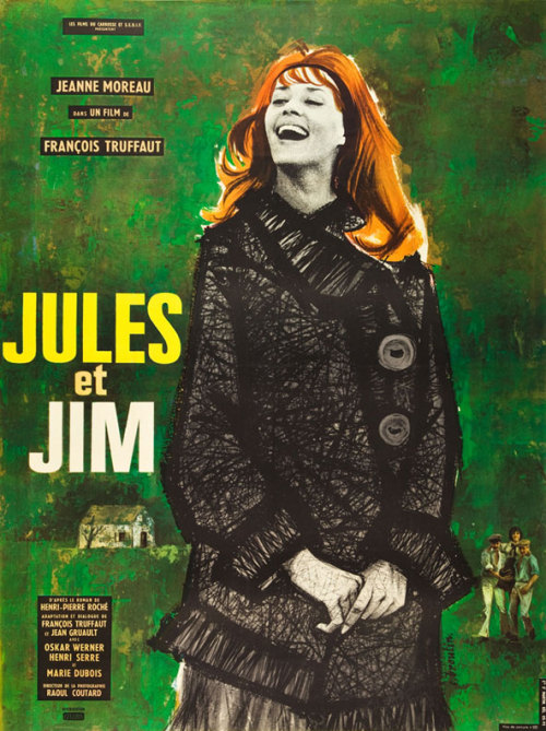 Movie Poster of the Week: Jules et Jim (+ an interview with the designer)