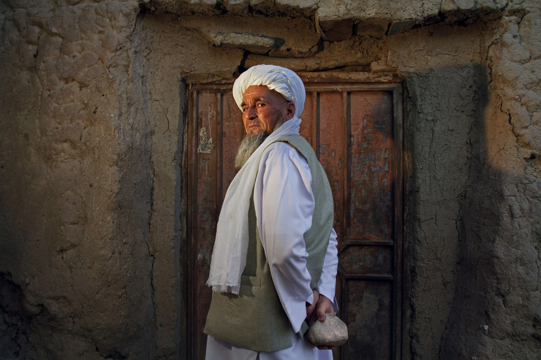 Hajji Saheb, the village elder of Ghorian District, Herat Province, was responsible for sentencing a 16-year-old woman to stoning. Photo: Javier Manzano The war in Afghanistan is not over. Help us tell the story. Fund our Kickstarter.