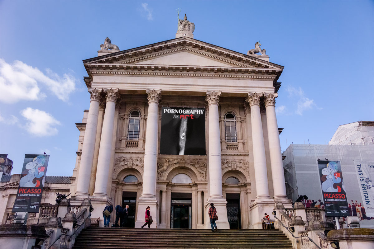 Tate Britain at porn-as-art.tumblr.com