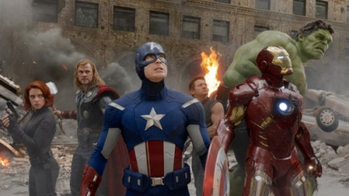 The Avengers for the win! The jam-packed superhero flick pulled in $200.3 million domestically opening weekend, beating out Harry Potter And The Deathly Hallows: Part 2′s $169.2 last summer, according to The Hollywood Reporter.  Avengers opened a week ago overseas, earning a whopping $441.5 million through Sunday. The pic's worldwide total of $641.8 million has already surpassed the lifetime totals of Captain America: The First Avenger ($364 million), Thor ($449 million), Iron Man ($585 million) and Iron Man 2 ($624 million).  Whuck! This is a much-needed financial boost for Disney, which lost about $200 million at the box office with John Carter (I still love you, Tim Riggins). Have you gone to see 'The Avengers'?!