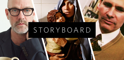 editorial:  We're excited to announce the official launch of Storyboard, our new hub for in-depth conversations with Tumblr's creative community. We'll be posting regular features on creators working in and around Tumblr's massively diverse cosmos — writers, musicians, animators, scientists, artists, archivists, chefs, comedians, or anyone else with a great story to tell. Today we're talking about Michael Stipe, the New York Times, Afghanistan, and the design mechanics of the Tumblr Dashboard. We want to hear your stories too. If you're interested in submitting a story (or even a story idea) for us to publish, just post it on Tumblr tagged with #storyboard. Our editors will monitor the tag and the community's interactions there, promoting stories that resonate. And if your story really works, we'll ask to expand it for publication on Storyboard itself. Last but not least, if you find yourself in New York City on May 10, we'd love to hang out at the official Tumblr meetup celebrating Storyboard's launch. It's at Powerhouse Arena, 7-9pm, with drinks on us and several Tumblr celebrity mystery guests (cough Topherchris, Tommypom, cough).