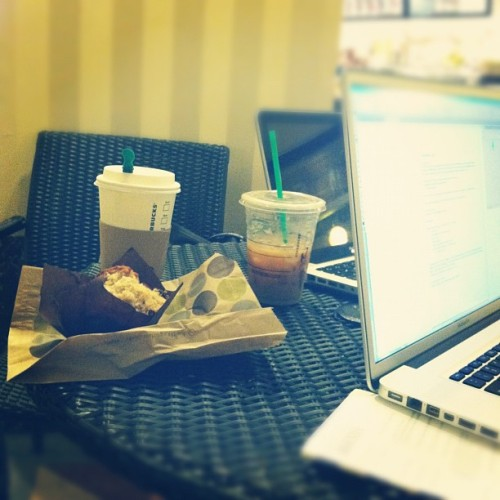 #caffeine #work #merchandisemart  (Taken with Instagram at Starbucks)