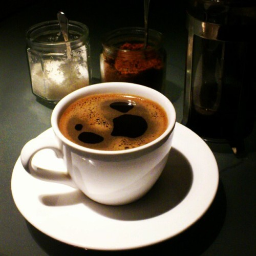 After work coffee (Taken with instagram)